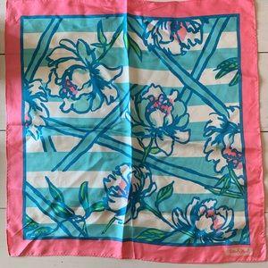 Lilly Pulitzer silk scarf